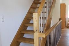 Treppe aus Eiche 1