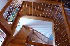 Treppe auf Galerie