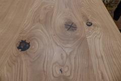 Detail Tischplatte