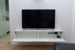 TV Möbel mit Klappe